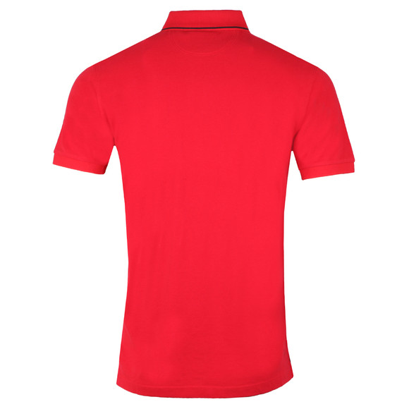 Hackett Mens Red S/S Classic Polo main image