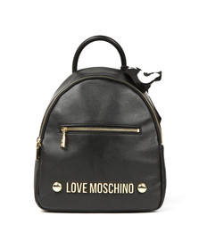 Love Moschino Womens Black Borsa Backpack