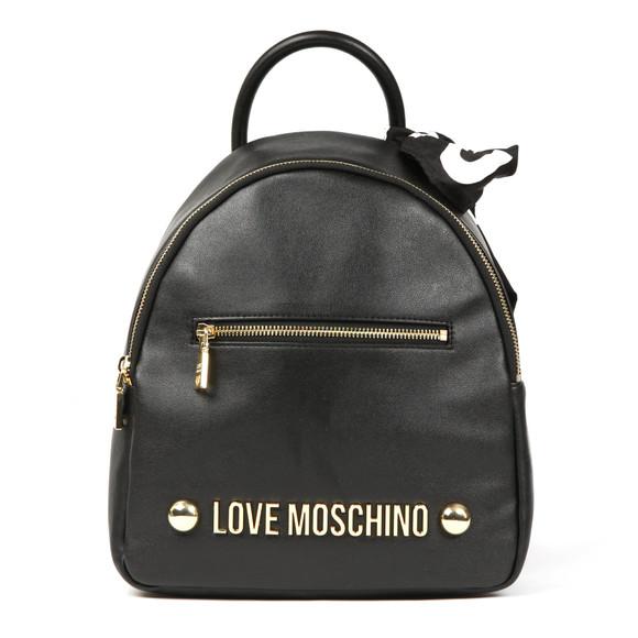 Love Moschino Womens Black Borsa Backpack main image