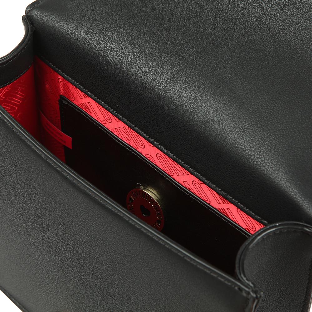 Borsa Pin Grain Pu Shoulder Bag main image