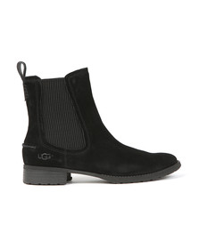 Ugg Womens Black Hillhurst Chelsea Boot