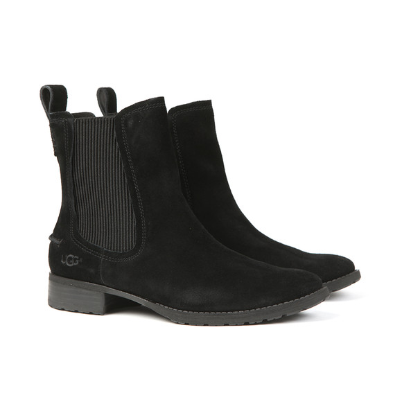 Ugg Womens Black Hillhurst Chelsea Boot main image