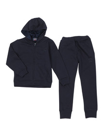 Paul & Shark Cadets Boys Blue Hooded Tracksuit
