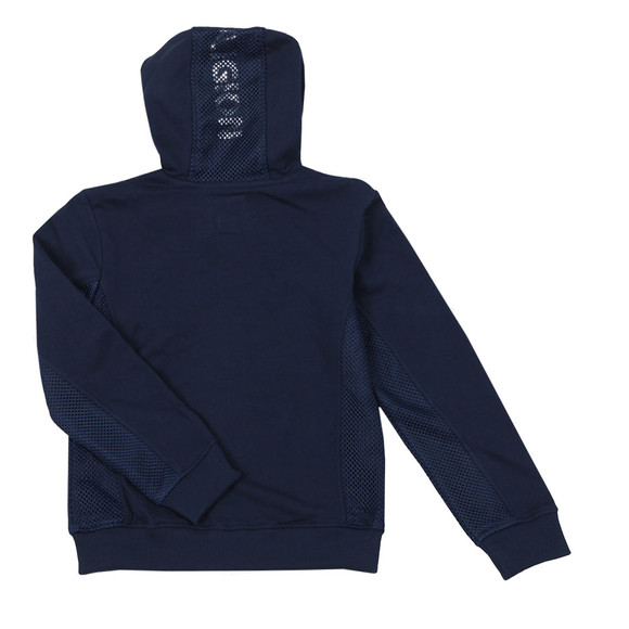True Religion Boys Blue Boys Mesh Logo Hoody main image