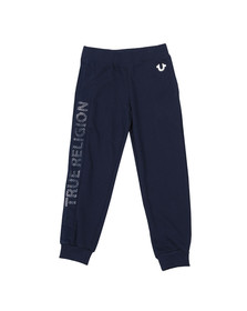 True Religion Boys Blue Boys Mesh Logo Sweatpant