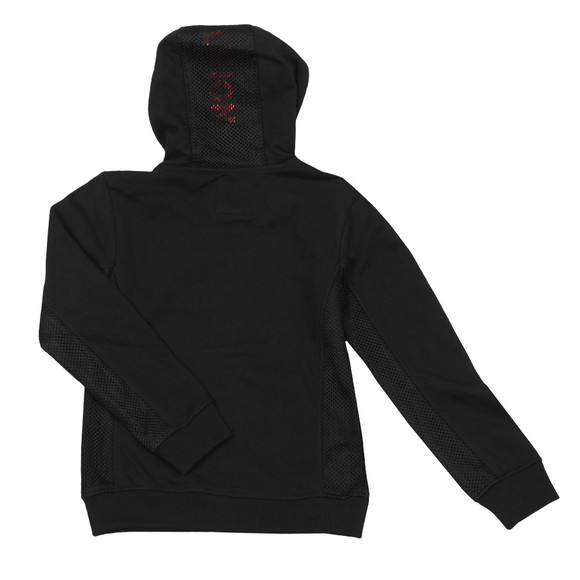 True Religion Boys Black Mesh Logo Hoody main image