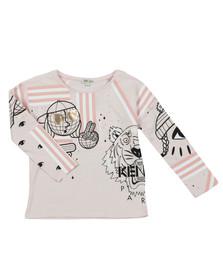 Kenzo Kids Girls Pink Cosmic Eloa T Shirt