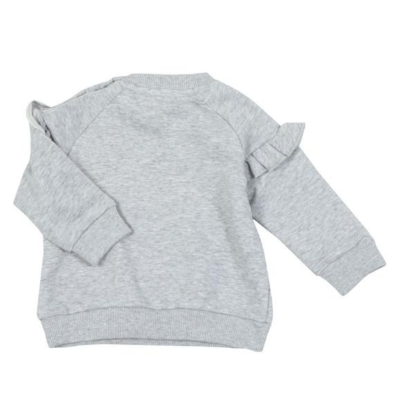 Kenzo Baby Girls Grey Logo Sweatshirt main image