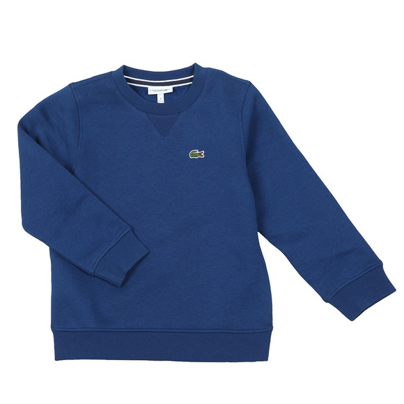 Lacoste Sport Boys Blue Small Logo Sweatshirt main image