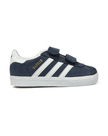 adidas Originals Boys Blue Gazelle 2 CF Trainer