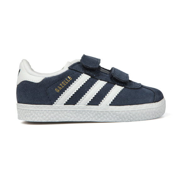 Adidas Originals Boys Blue Gazelle 2 CF Trainer main image
