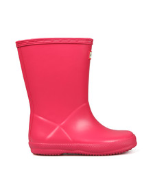Hunter Unisex Pink Kids First Wellington