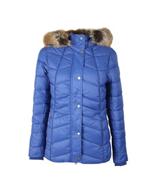 Barbour Lifestyle Womens Blue Bernera Quilt Jacket