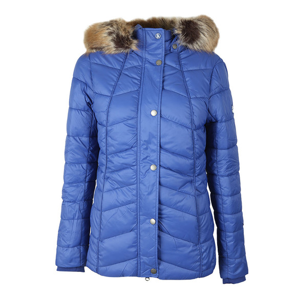 Barbour Lifestyle Womens Blue Bernera Quilt Jacket main image