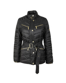 Barbour International Womens Black Trail Quilted Jacket