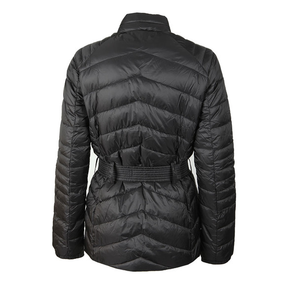Barbour International Womens Black Trail Quilted Jacket main image