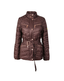 Barbour International Womens Brown Trail Quilted Jacket