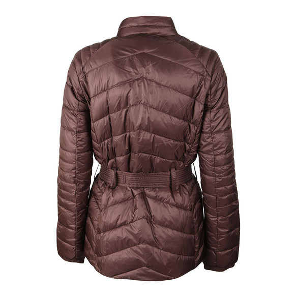 Barbour International Womens Brown Trail Quilted Jacket main image