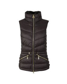 Barbour International Womens Black Victory Gilet