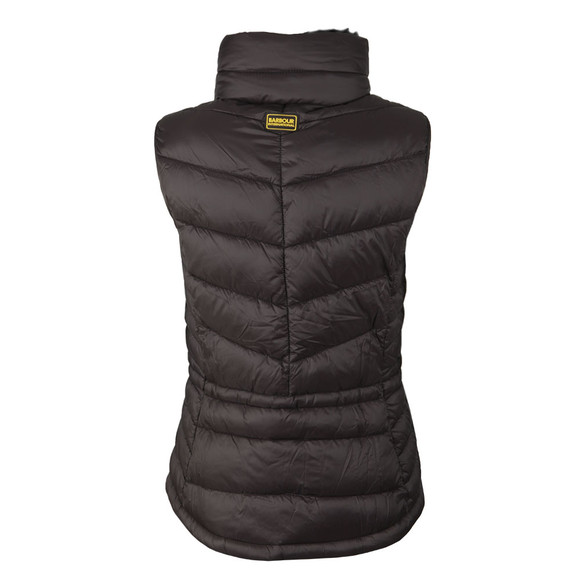 Barbour International Womens Black Victory Gilet main image