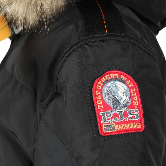 Parajumpers Womens Black Long Bear Jacket main image