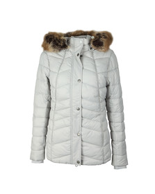 Barbour Lifestyle Womens White Bernera Quilt Jacket