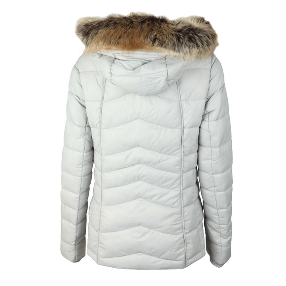 Barbour Lifestyle Womens White Bernera Quilt Jacket main image