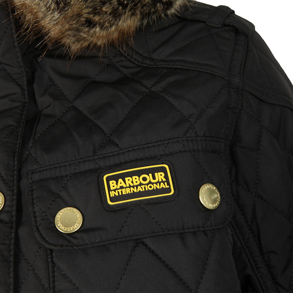 Barbour International Womens Black Enduro Quilt Jacket  main image