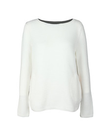 Barbour International Womens Off-white Aragon Knit