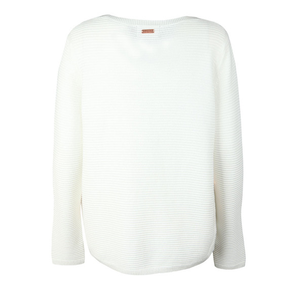 Barbour International Womens Off-white Aragon Knit main image