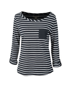 Barbour Lifestyle Womens Blue Newquay Top