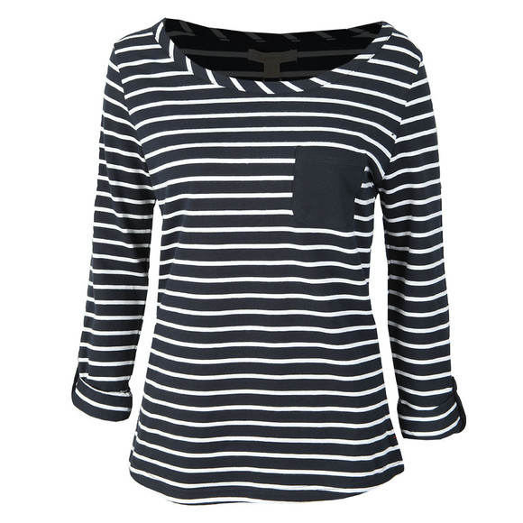 Barbour Lifestyle Womens Blue Newquay Top main image