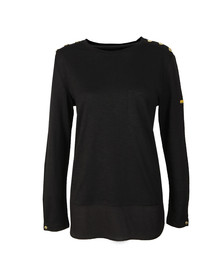 Barbour International Womens Black Imatra Top