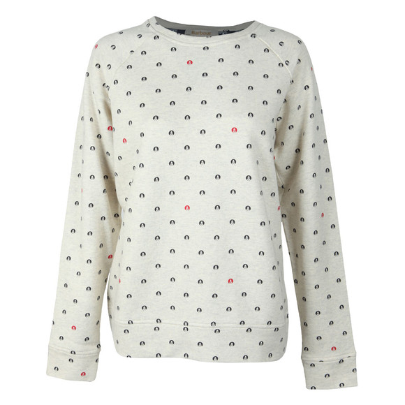 Barbour Lifestyle Womens Blue Hemsley Sweat main image