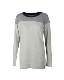 Barbour Lifestyle Womens Grey Sandsend Knit