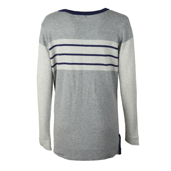 Barbour Lifestyle Womens Grey Sandsend Knit main image