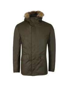 Barbour Int. Steve McQueen Mens Green Int Sub Wax Jacket