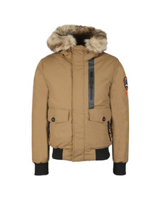 Superdry Mens Brown Everest Bomber Jacket