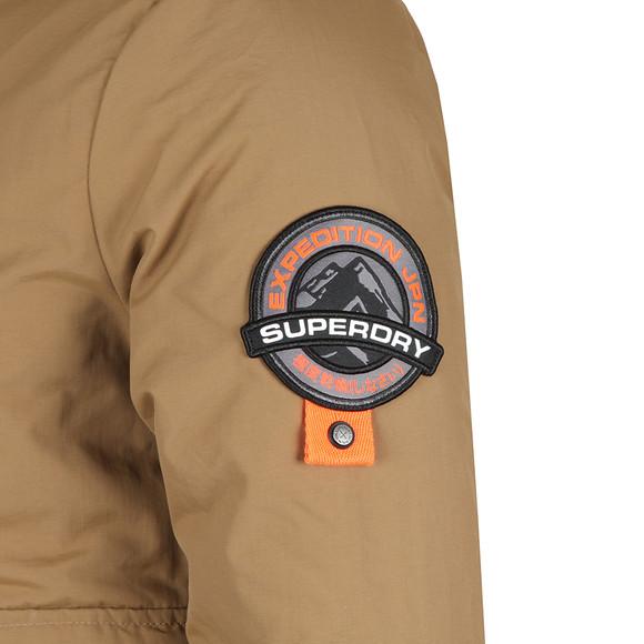Superdry Mens Brown Everest Bomber Jacket main image