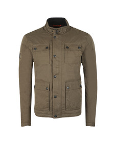 Superdry Mens Green Rotor Jacket