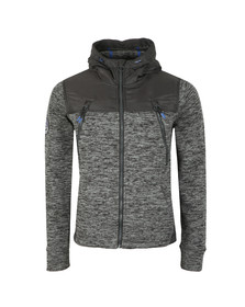 Superdry Mens Black Mountain Ziphood Jacket