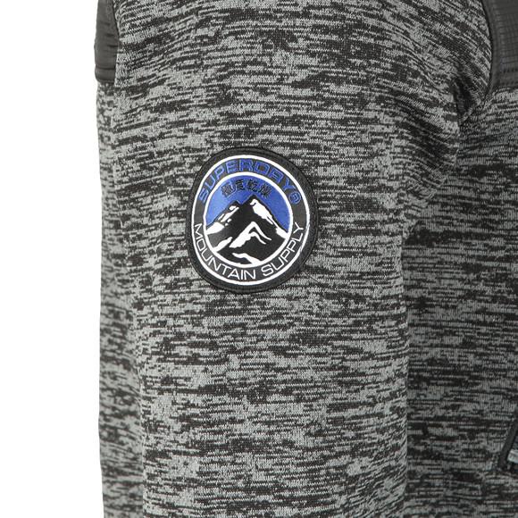 Superdry Mens Black Mountain Ziphood Jacket main image