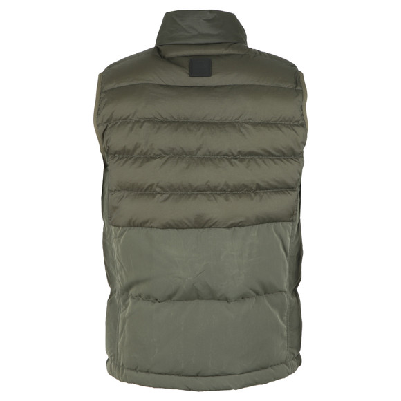 BOSS Mens Green Casual Olca Gilet main image