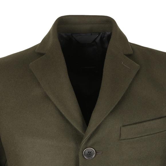 J.Lindeberg Mens Green Wolger Compact Melton Coat main image