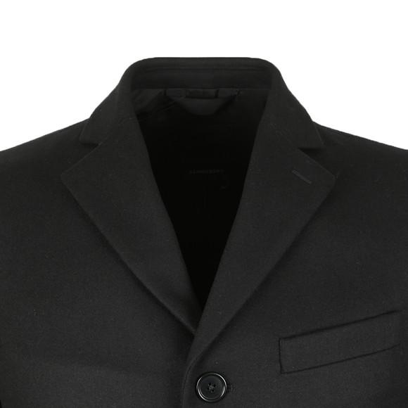 J.Lindeberg Mens Black Wolger Compact Melton Coat main image