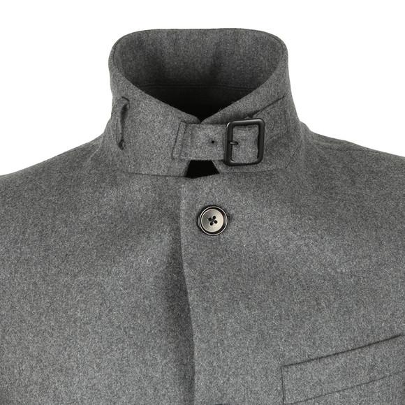 J.Lindeberg Mens Grey Holger Compact Melton Coat main image