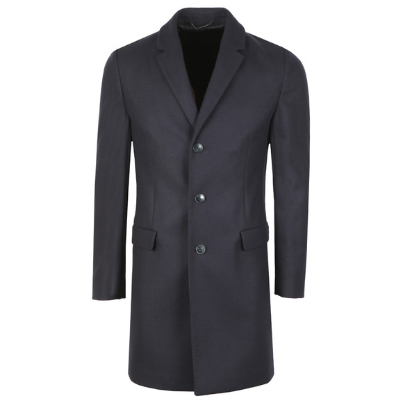 HUGO Mens Blue Migor1841 Coat main image