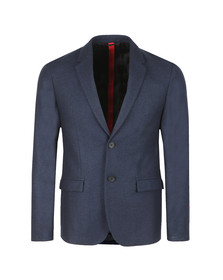 HUGO Mens Blue Harelto Blazer