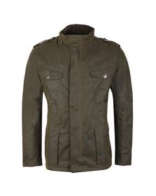 Barbour Int. Steve McQueen Mens Green Tuscon Wax Jacket