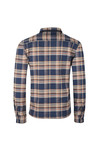 Barbour Int. Steve McQueen Mens Blue Washer Overshirt